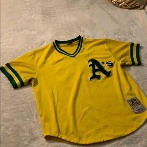 Oakland Athletics Mitchell & Ness MLB Jersey